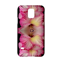 Pink Gladiolus Flowers Samsung Galaxy S5 Hardshell Case  by Artist4God