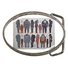 5 Tribes, Belt Buckle (oval)