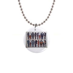 5 Tribes, Button Necklace by creationtruth