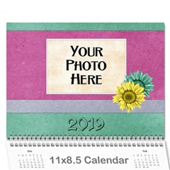 2015 Calendar Yard Work By Lisa Minor   Wall Calendar 11  X 8 5  (12 Months)   Jbx1q6jft8jv   Www Artscow Com Cover