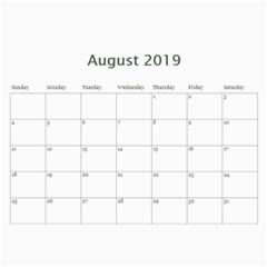 2019 Calendar Yard Work By Lisa Minor   Wall Calendar 11  X 8 5  (12 Months)   Jbx1q6jft8jv   Www Artscow Com Aug 2019
