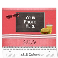 2015 Our Backyard Party Calendar By Lisa Minor   Wall Calendar 11  X 8 5  (12 Months)   Z92yexkjv4lv   Www Artscow Com Cover