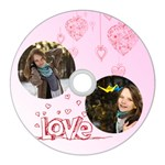 love - CD Wall Clock