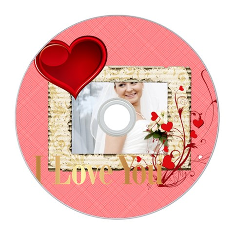 Love By Ki Ki   Cd Wall Clock   142a85gih5vr   Www Artscow Com Front