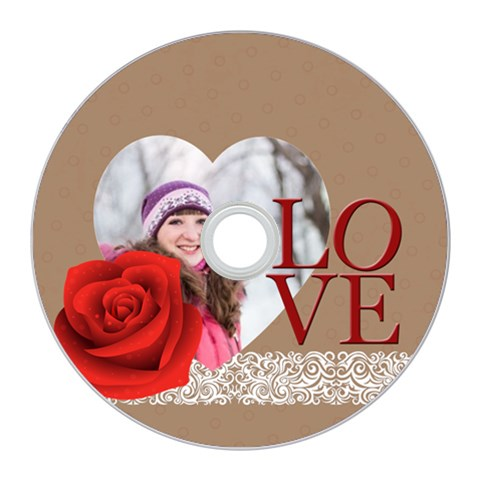 Love By Ki Ki   Cd Wall Clock   V30ahs2fvcb7   Www Artscow Com Front