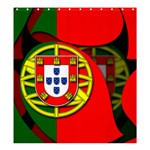 Portugal Shower Curtain 66  x 72  (Large)