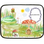 Fairytale blanket - Fleece Blanket (Mini)