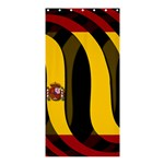 Spain Dark Shower Curtain 36  x 72  (Stall)