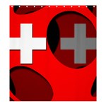 Switzerland Shower Curtain 66  x 72  (Large)