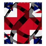 United Kingdom Shower Curtain 66  x 72  (Large)
