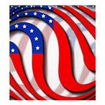 USA Shower Curtain 66  x 72  (Large)