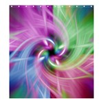 Multi Twist Shower Curtain 66  x 72  (Large)