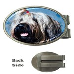 Briard Money Clip (Oval)