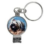 Briard Nail Clippers Key Chain