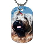 Briard Dog Tag (One Side)