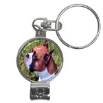 boxer Nail Clippers Key Chain