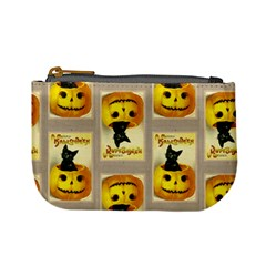 A Merry Hallowe en Coin Change Purse by EndlessVintage