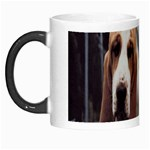 basset hounds two Morph Mug