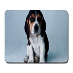 Basset hound puppy Large Mousepad