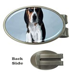 Basset hound puppy Money Clip (Oval)