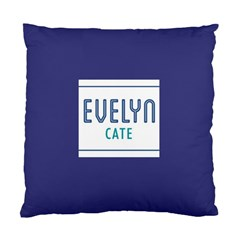 Evelyn Pillow By Kim Altsuler   Standard Cushion Case (two Sides)   Qqxmvdlr9sdr   Www Artscow Com Front