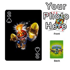 Swap Force Cards By Szakismash   Playing Cards 54 Designs   Ddb5du3i0ymr   Www Artscow Com Front - Spade2
