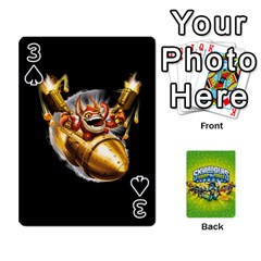 Swap Force Cards By Szakismash   Playing Cards 54 Designs   Ddb5du3i0ymr   Www Artscow Com Front - Spade3