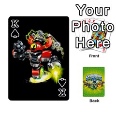 King Swap Force Cards By Szakismash   Playing Cards 54 Designs   Ddb5du3i0ymr   Www Artscow Com Front - SpadeK