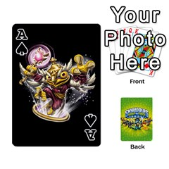 Ace Swap Force Cards By Szakismash   Playing Cards 54 Designs   Ddb5du3i0ymr   Www Artscow Com Front - SpadeA