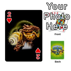 Swap Force Cards By Szakismash   Playing Cards 54 Designs   Ddb5du3i0ymr   Www Artscow Com Front - Heart2