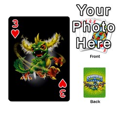 Swap Force Cards By Szakismash   Playing Cards 54 Designs   Ddb5du3i0ymr   Www Artscow Com Front - Heart3