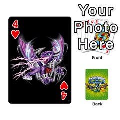 Swap Force Cards By Szakismash   Playing Cards 54 Designs   Ddb5du3i0ymr   Www Artscow Com Front - Heart4