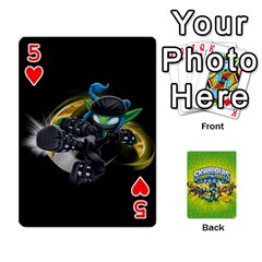 Swap Force Cards By Szakismash   Playing Cards 54 Designs   Ddb5du3i0ymr   Www Artscow Com Front - Heart5
