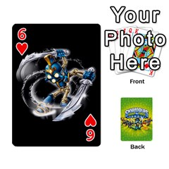 Swap Force Cards By Szakismash   Playing Cards 54 Designs   Ddb5du3i0ymr   Www Artscow Com Front - Heart6