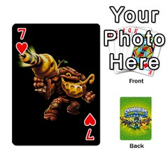 Swap Force Cards By Szakismash   Playing Cards 54 Designs   Ddb5du3i0ymr   Www Artscow Com Front - Heart7