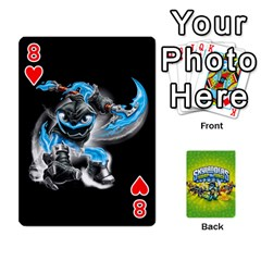 Swap Force Cards By Szakismash   Playing Cards 54 Designs   Ddb5du3i0ymr   Www Artscow Com Front - Heart8