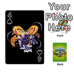 Swap Force Cards By Szakismash   Playing Cards 54 Designs   Ddb5du3i0ymr   Www Artscow Com Front - Spade4