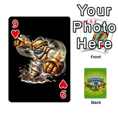 Swap Force Cards By Szakismash   Playing Cards 54 Designs   Ddb5du3i0ymr   Www Artscow Com Front - Heart9