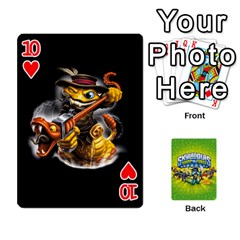 Swap Force Cards By Szakismash   Playing Cards 54 Designs   Ddb5du3i0ymr   Www Artscow Com Front - Heart10