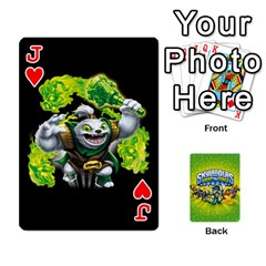 Jack Swap Force Cards By Szakismash   Playing Cards 54 Designs   Ddb5du3i0ymr   Www Artscow Com Front - HeartJ