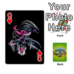 Queen Swap Force Cards By Szakismash   Playing Cards 54 Designs   Ddb5du3i0ymr   Www Artscow Com Front - HeartQ