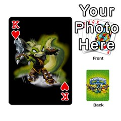 King Swap Force Cards By Szakismash   Playing Cards 54 Designs   Ddb5du3i0ymr   Www Artscow Com Front - HeartK