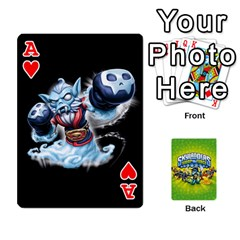 Ace Swap Force Cards By Szakismash   Playing Cards 54 Designs   Ddb5du3i0ymr   Www Artscow Com Front - HeartA