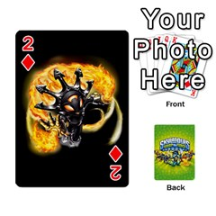 Swap Force Cards By Szakismash   Playing Cards 54 Designs   Ddb5du3i0ymr   Www Artscow Com Front - Diamond2