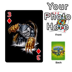 Swap Force Cards By Szakismash   Playing Cards 54 Designs   Ddb5du3i0ymr   Www Artscow Com Front - Diamond3