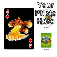 Swap Force Cards By Szakismash   Playing Cards 54 Designs   Ddb5du3i0ymr   Www Artscow Com Front - Diamond4