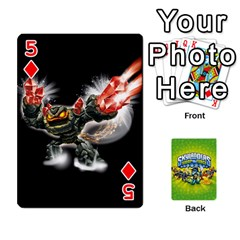 Swap Force Cards By Szakismash   Playing Cards 54 Designs   Ddb5du3i0ymr   Www Artscow Com Front - Diamond5