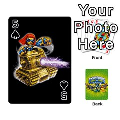 Swap Force Cards By Szakismash   Playing Cards 54 Designs   Ddb5du3i0ymr   Www Artscow Com Front - Spade5