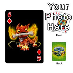 Swap Force Cards By Szakismash   Playing Cards 54 Designs   Ddb5du3i0ymr   Www Artscow Com Front - Diamond6