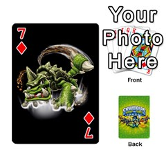 Swap Force Cards By Szakismash   Playing Cards 54 Designs   Ddb5du3i0ymr   Www Artscow Com Front - Diamond7